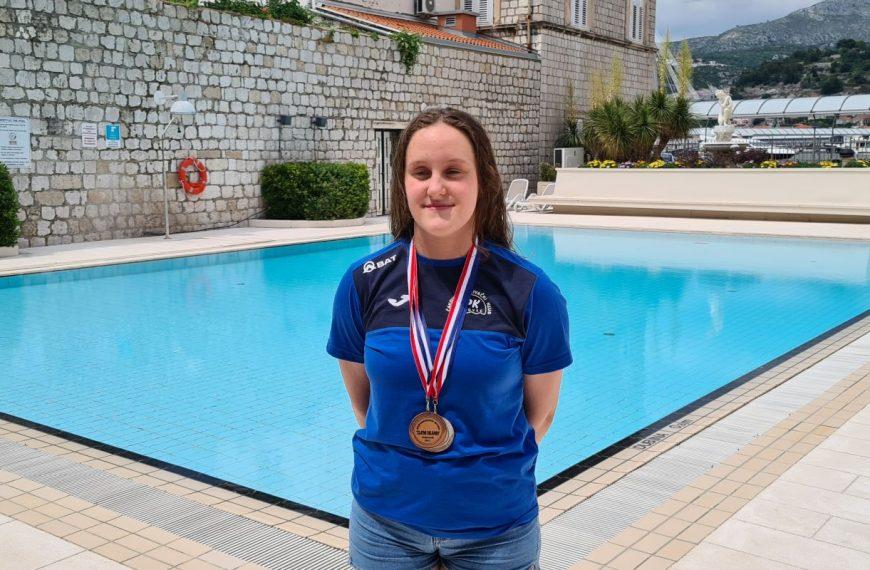 Emi Medved dvije medalje u Dubrovniku